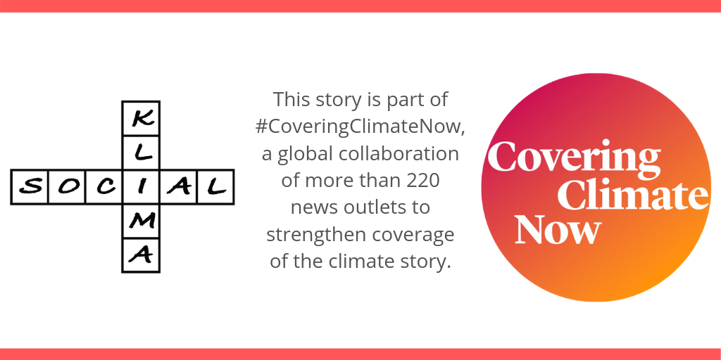 Logo with the text: This story is part of Covering Climate Now, a global collaboration of more than 220 news outlets to strengthen coverage of the climate story.